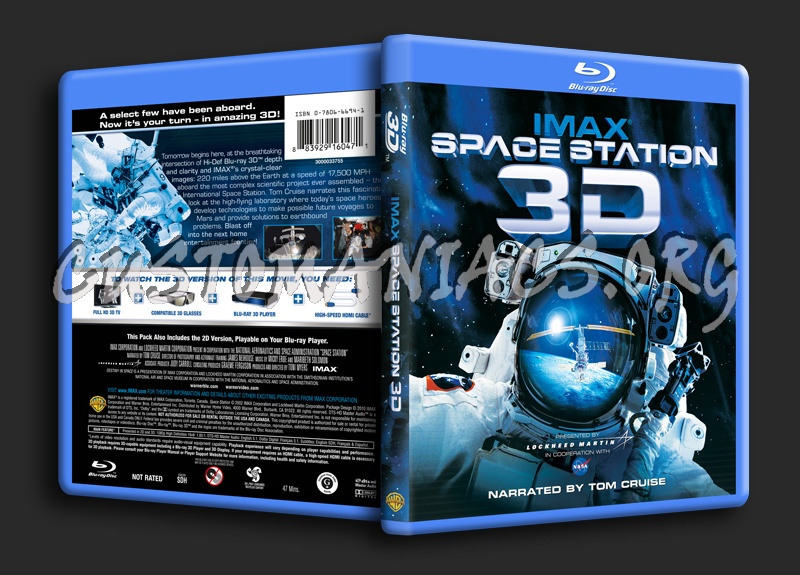 IMAX Space Station 3D blu-ray cover