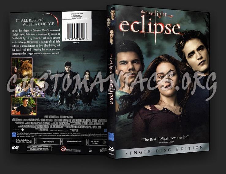 The Twilight Saga - Eclipse dvd cover