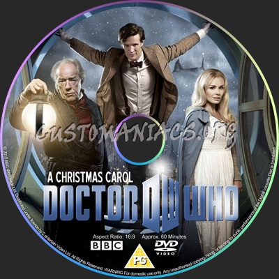 Doctor Who : A Christmas Carol dvd label - DVD Covers & Labels by Customaniacs, id: 124460 free ...
