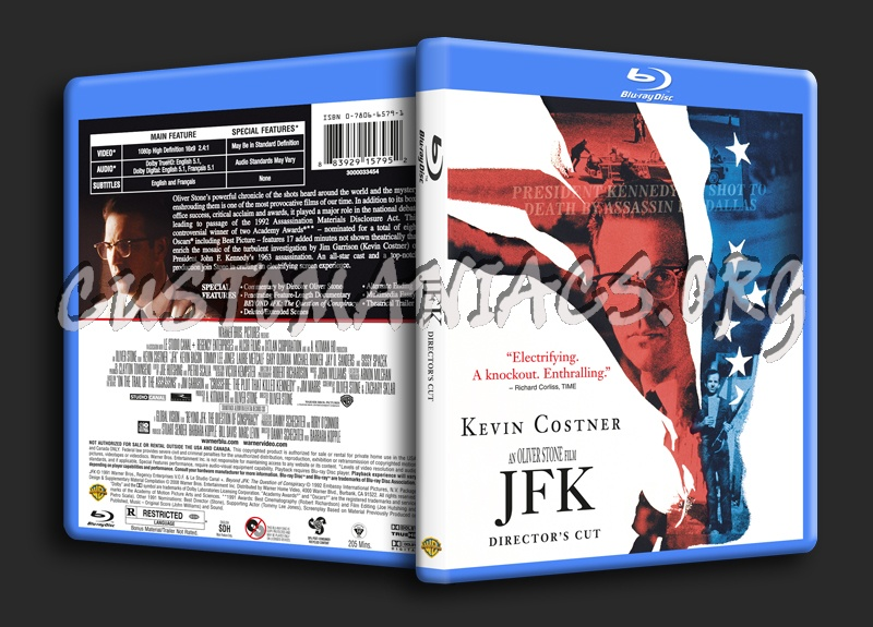 Jfk blu-ray cover