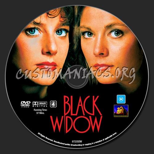 Black Widow dvd label