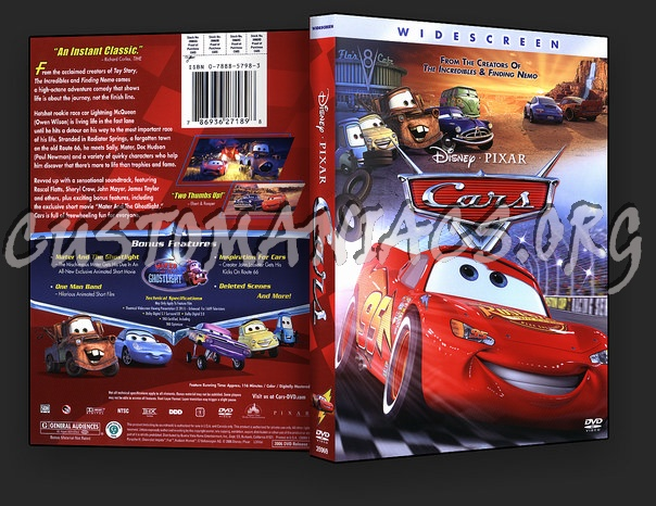 Cars Dvd Cover Dvd Covers Labels By Customaniacs Id 4724