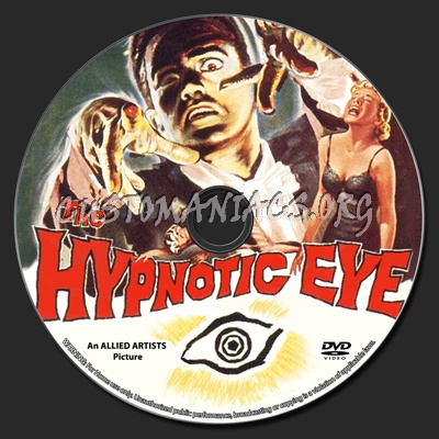The Hypnotic Eye dvd label