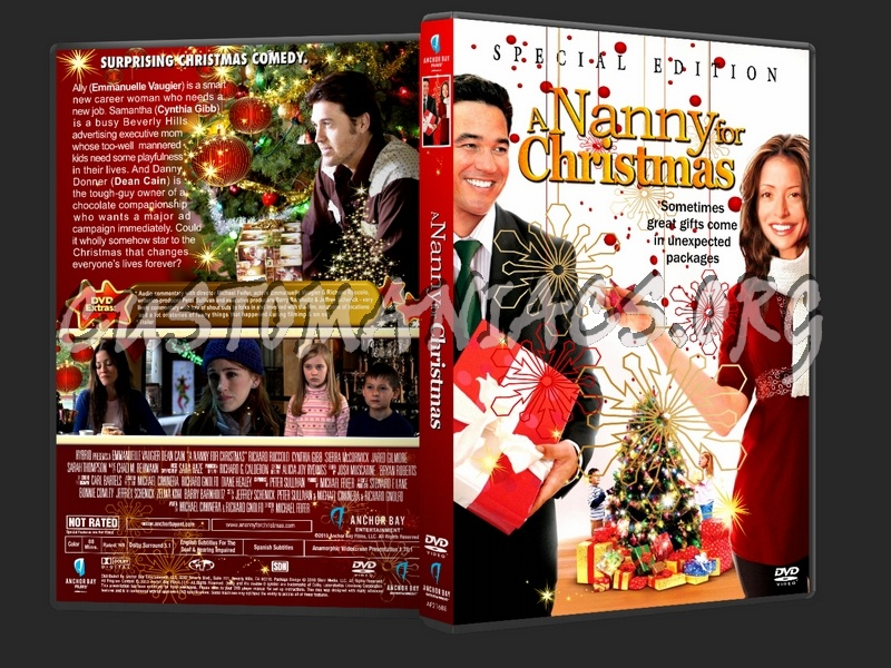 A Nanny For Christmas.A Nanny For Christmas Dvd Cover Dvd Covers Labels By