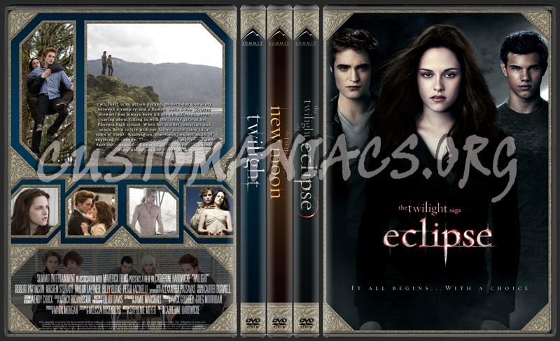 The Twilight Saga: Eclipse dvd cover
