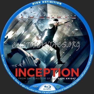 Inception blu-ray label