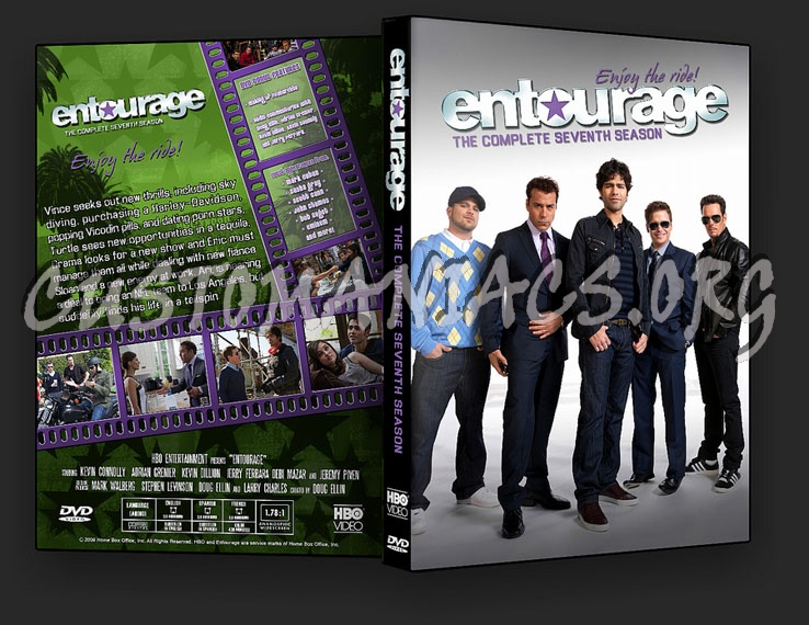 Entourage seasons 1 8 dvd cover dvd covers labels by Entourage online free