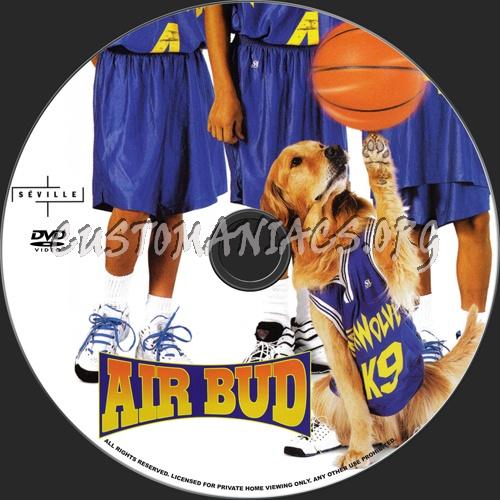 Air Bud dvd label