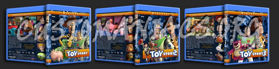 Toy Story Collection blu-ray cover