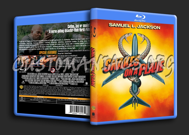 Snakes On A Plane blu-ray cover