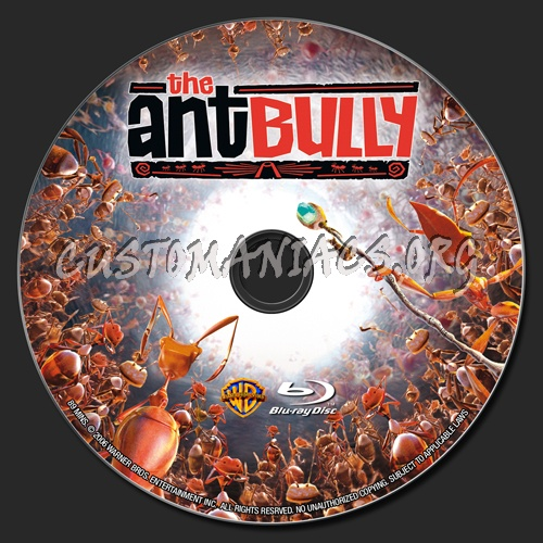 The Ant Bully blu-ray label
