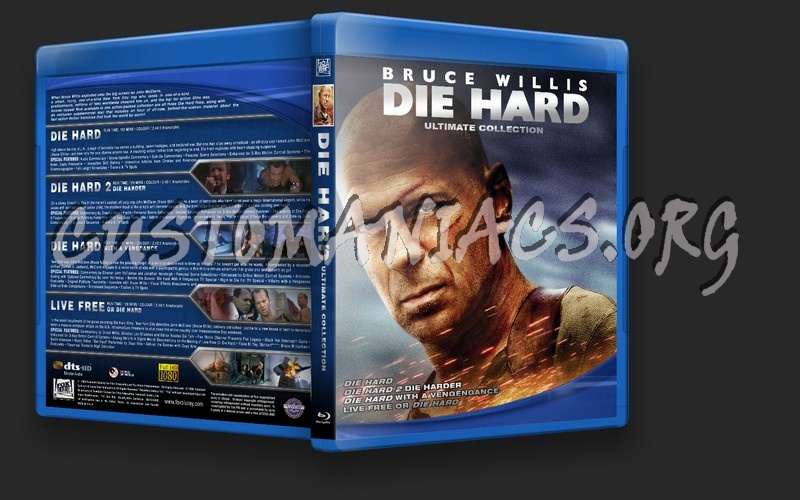 Die Hard Ultimate Collection blu-ray cover