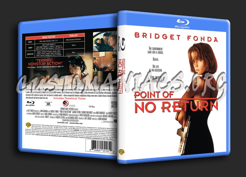 Point Of No Return blu-ray cover