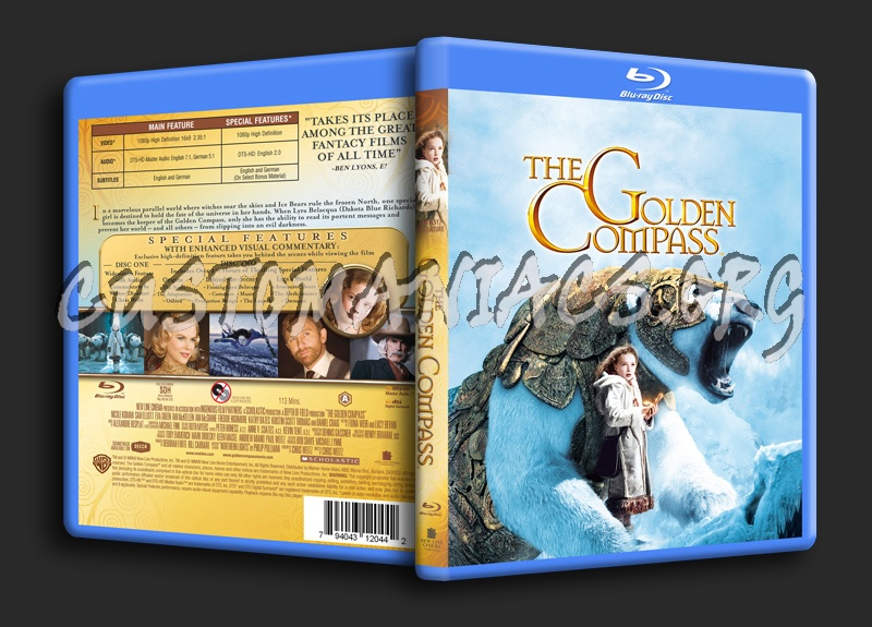 The Golden Compass blu-ray cover