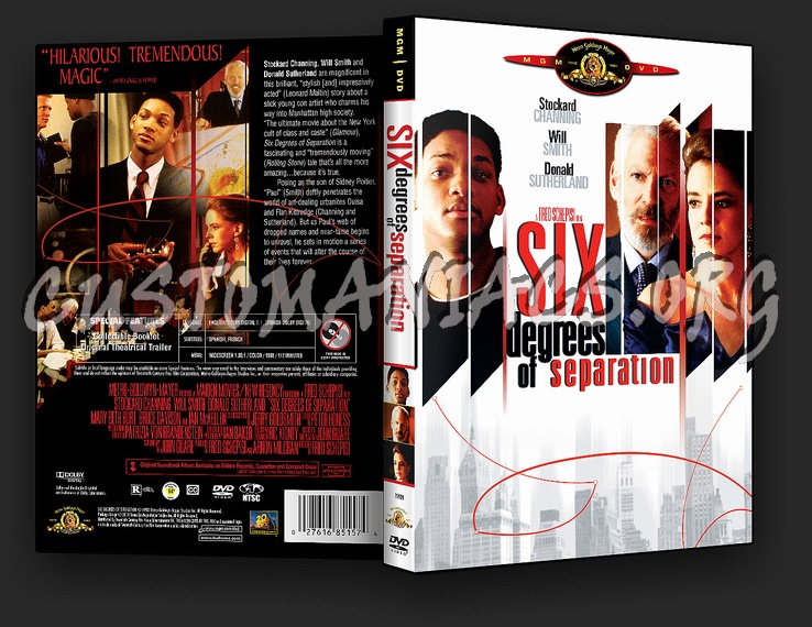 Six Degrees Of Separation Dvd Cover