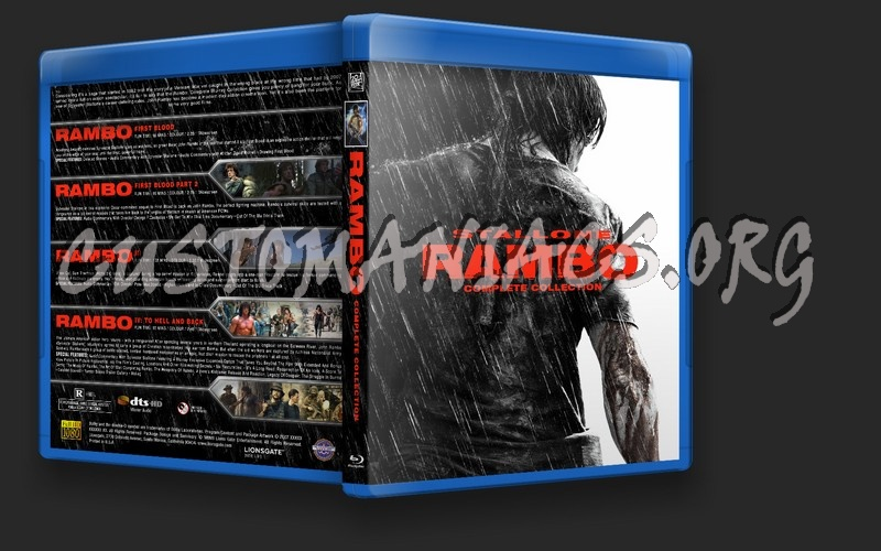 Rambo Collection blu-ray cover