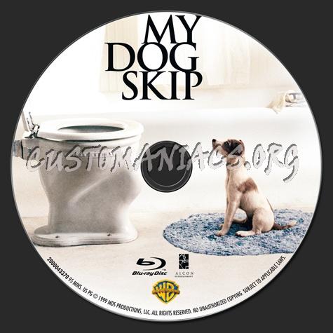 My Dog Skip blu-ray label