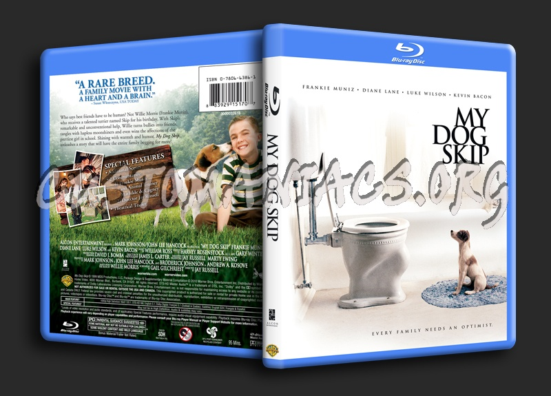 My Dog Skip blu-ray cover