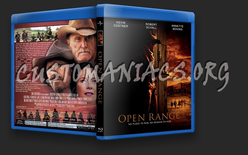 Open Range blu-ray cover