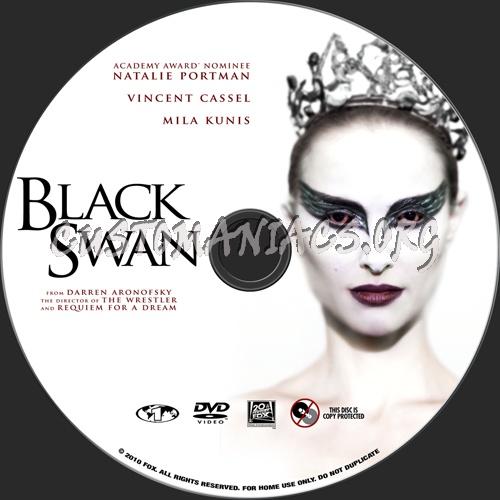 Black Swan dvd label