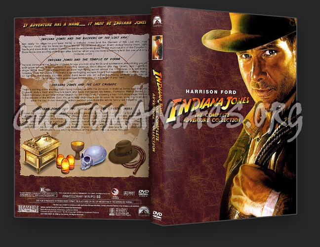Indiana Jones Complete Adventure Collection dvd cover