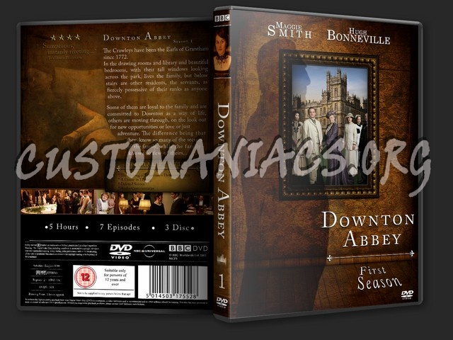 Downton Abbey Season 1 dvd cover