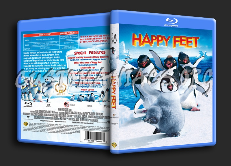 Happy Feet blu-ray cover
