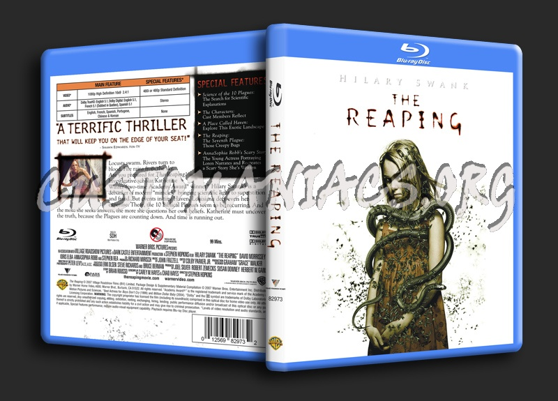 The Reaping blu-ray cover