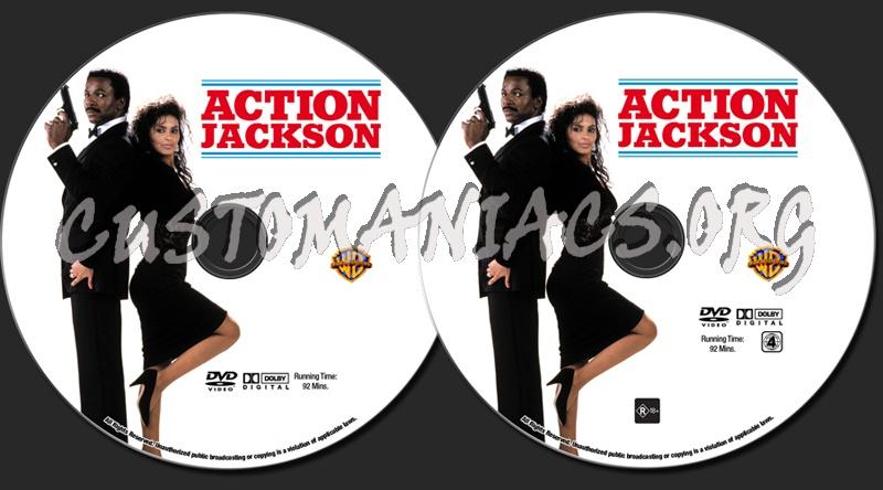 Action Jackson dvd label