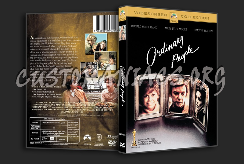Ordinary People dvd cover