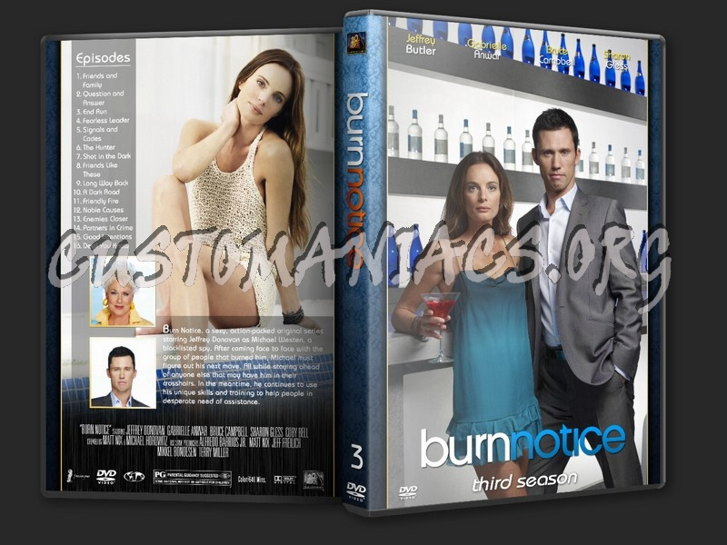 Burn Notice dvd cover
