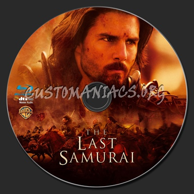The Last Samurai Blu Ray Label Dvd Covers Labels By Customaniacs | Dog ...