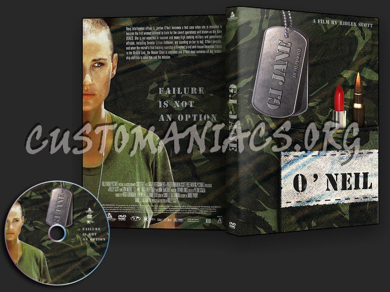 G.I. Jane dvd cover