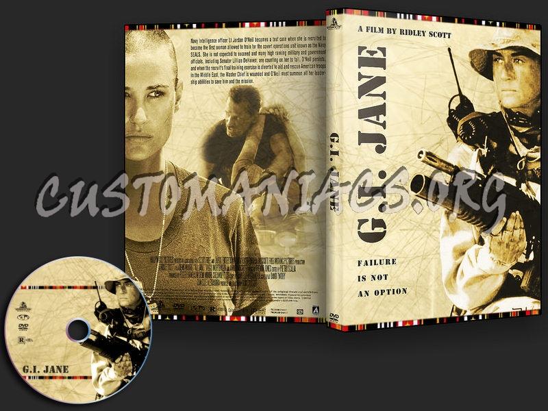 G.I. Jane dvd cover