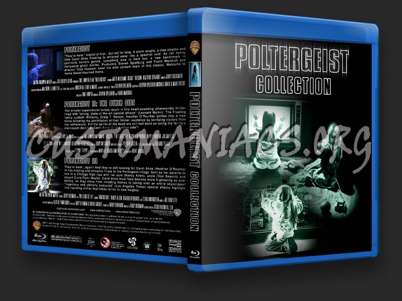 Poltergeist Collection blu-ray cover