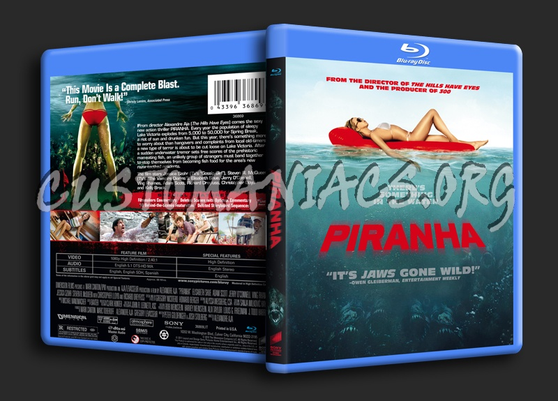 Piranha blu-ray cover