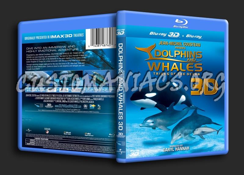 Imax: Dolphins and Whales 3D blu-ray cover