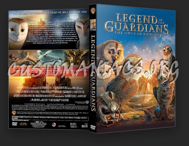 Legend Of The Guardians The Owls Of Ga'Hoole dvd cover