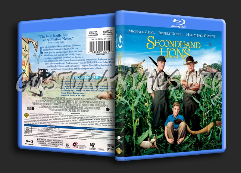 Images of Secondhand Lions Dvd - #rock-cafe