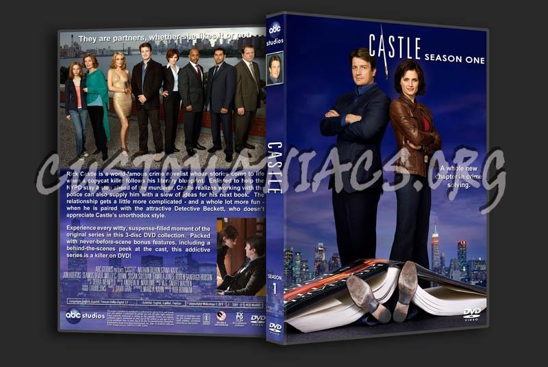 Castle - Season 1 dvd cover