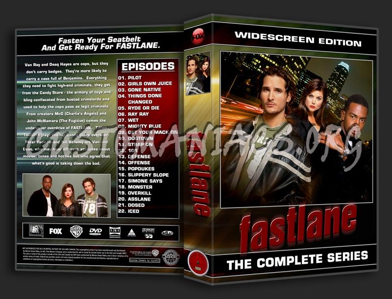 Fastlane dvd cover