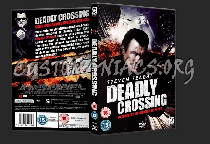 Deadly Crossing dvd cover