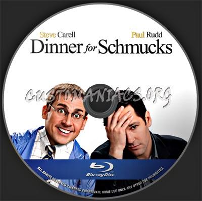 Dinner For Schmucks blu-ray label