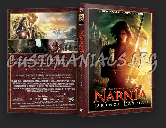 The Chronicles Of Narnia: Prince Caspian dvd cover
