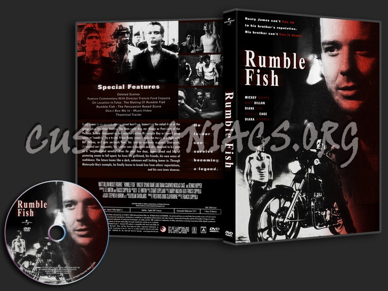 Rumble Fish dvd cover