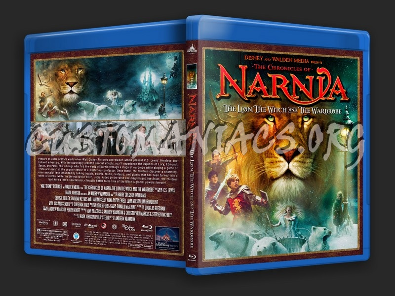 The Chronicles Of Narnia: The Lion The Witch And The Wardrobe blu-ray cover