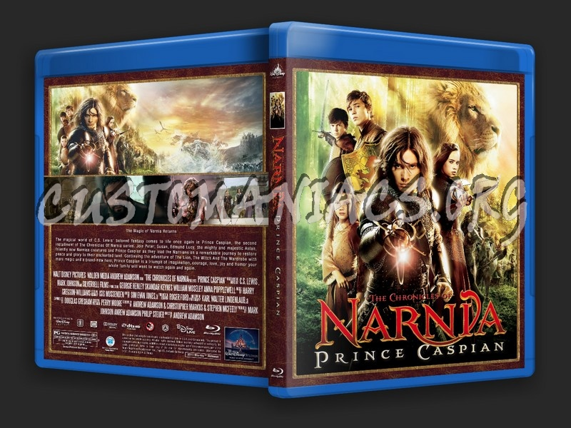 The Chronicles Of Narnia: Prince Caspian blu-ray cover