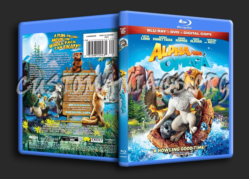 Alpha and Omega blu-ray cover