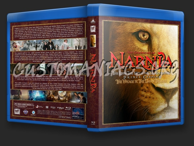Chronicles Of Narnia Collection blu-ray cover