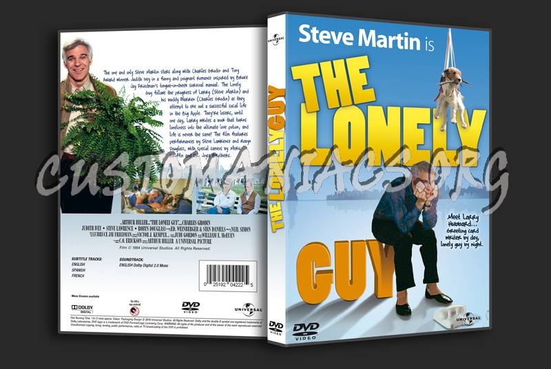 The Lonely Guy dvd cover